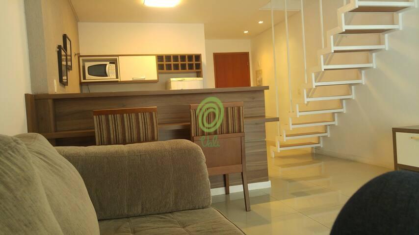 Final de semana e dia do trabalho em Itaipava 105 - Itaipava - Lägenhet