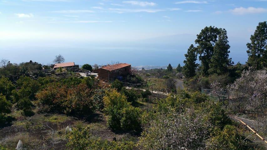 Casa Campo con Vistas Mar y Volcán - Guía de Isora - Hus
