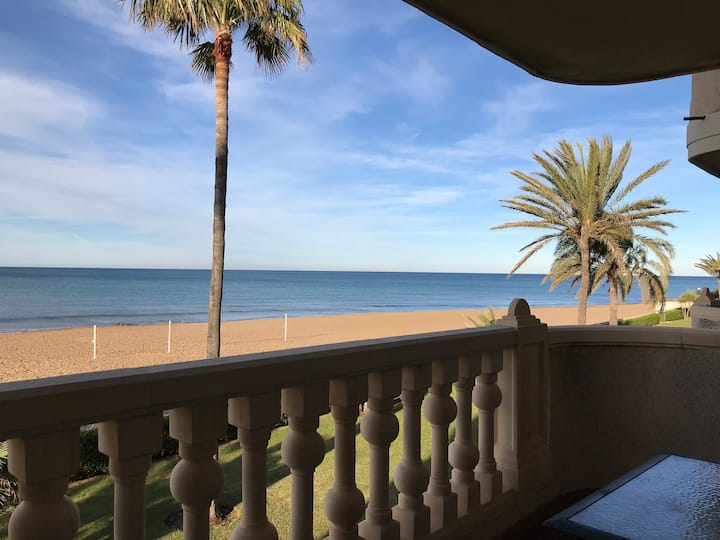 lovely apartment in Denia with see views