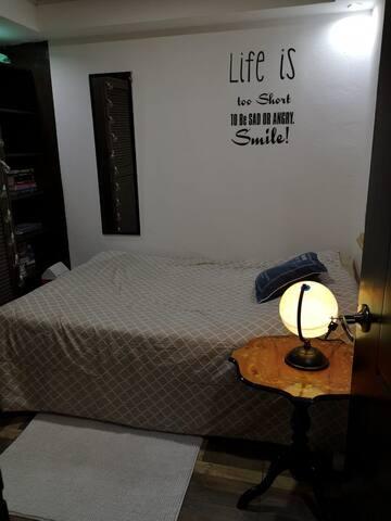 Cozy small bedroom