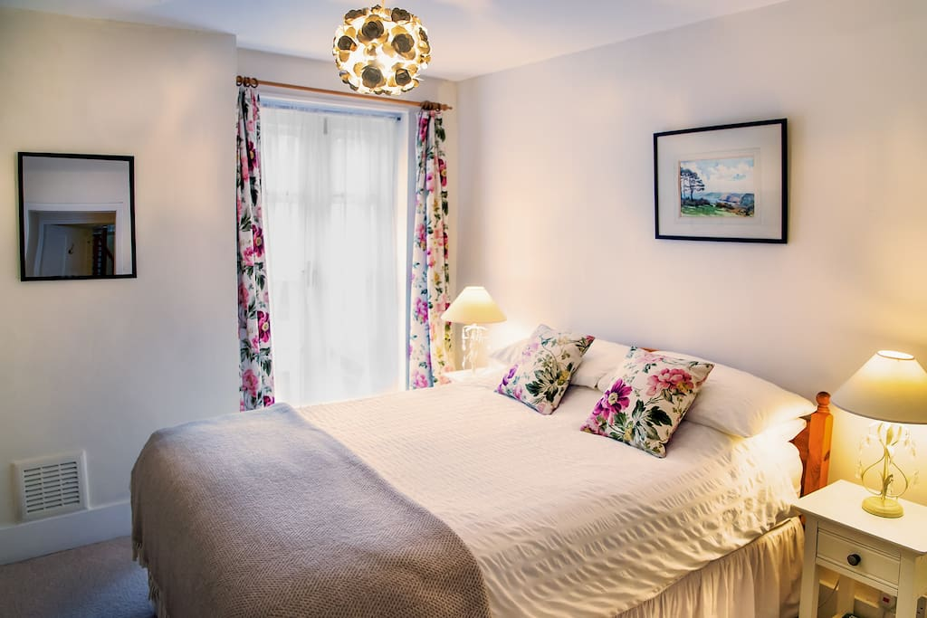 Our newly refurbished room has an extra deep luxurious mattress