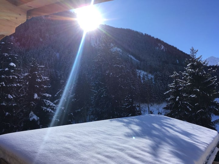 Waldhütte - Chalet in Sellrain bis 10 Personen