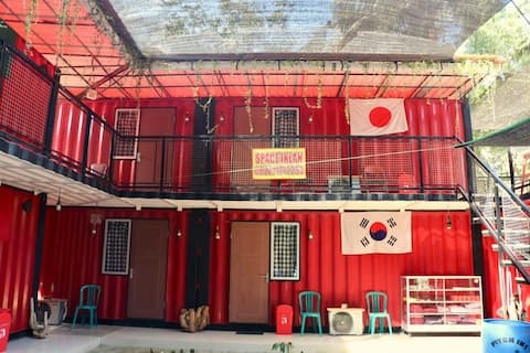 """Red Island Container Hotel and Surf ( RICH""""S)"""