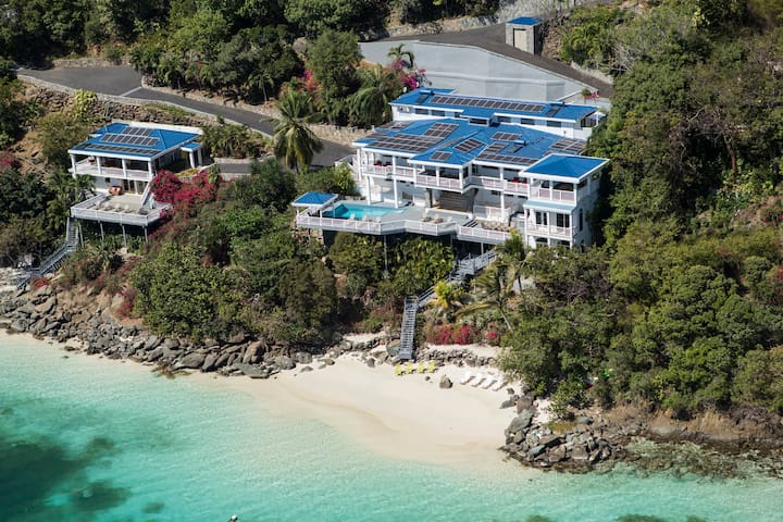Sand Dollar Estate / 2 Private Beaches/ 6 or 9 BRs