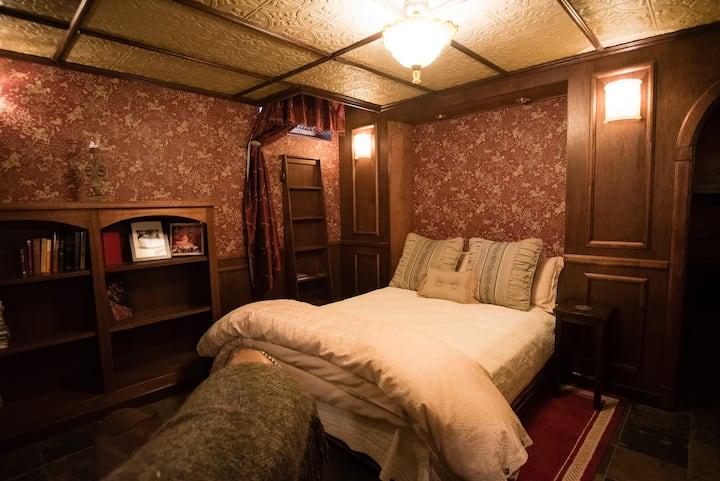 Romantic cellar room in historic home