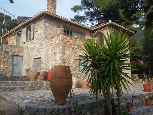 Villa Panos - Porto Germeno - Hus