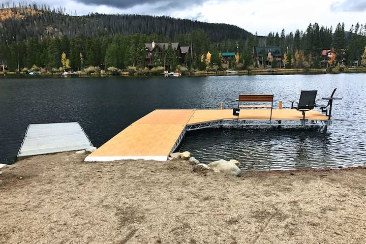 You'll love the shared dock on the 22-acre lake!