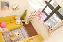 猫宁Room.5-LOFT复式公寓.市中心BRT沿线 ,速达机场动车站-价格优惠支持月租长租详谈哟.