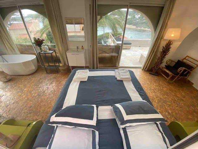 Villa Loutissol : chambre Rascasse