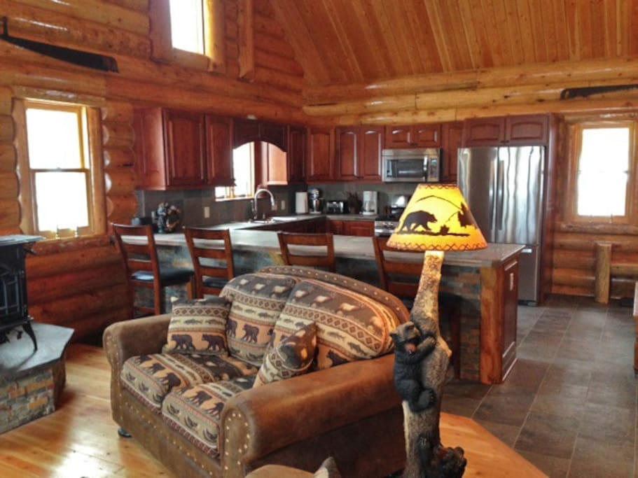 Luxury Log Cabin Wintersports Summer Fun Cabins For