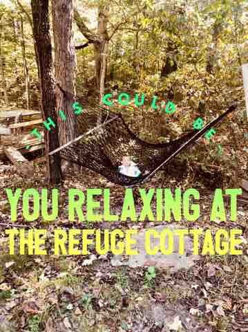 The Refuge Cottage on the Shawnee Wine Trail