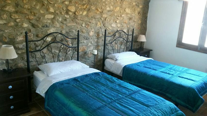 Twin Room in Cortigo, Spanish Hills - Aljariz - Casa
