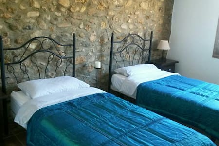 Twin Room in Cortigo, Spanish Hills - Aljariz - Huis