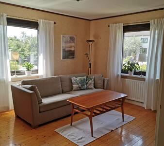 Ljus lägenhet i centrala Varberg