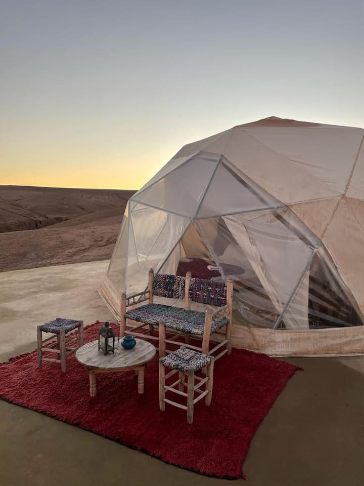 Luxueux Dome dans le désert 4