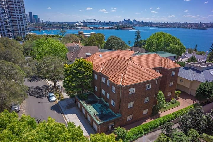DARLING POINT PARADISE with FREE STREET PARKING