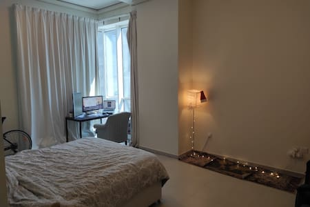 Master Bedroom ensuite bathroom + Personal Balcony