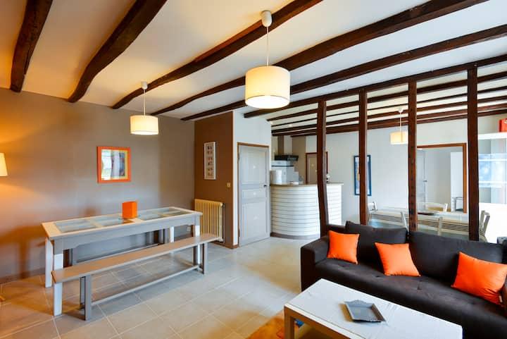 Appartement 50m2 - 4 personnes à 10 mn des plages