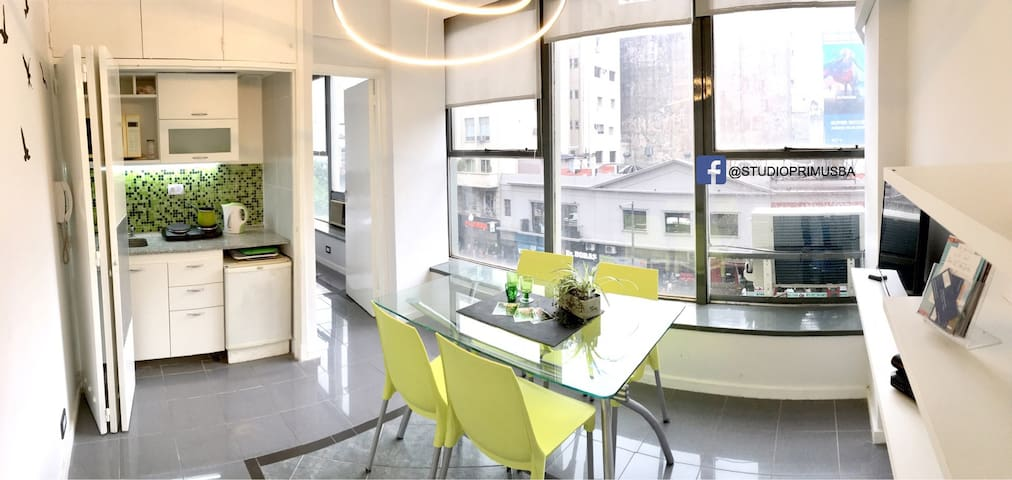 Luminous APARTMENT in heart of Buenos Aires City - Buenos Aires - Apartment