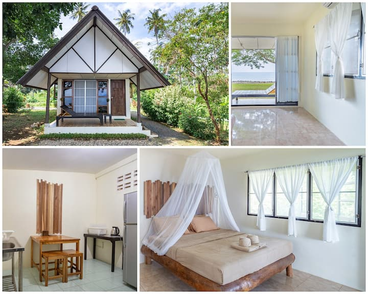 Ta-Lay Time(Seafront AC bungalow with Kitchenette)