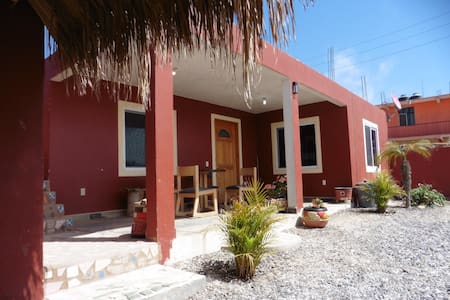 "Casitas ""Javi"" 1 BR house in downtown San Juanico"