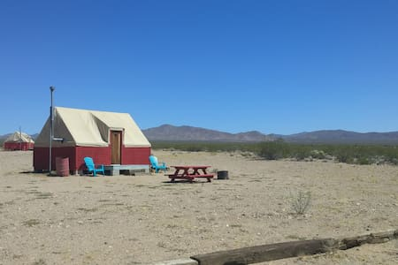 Nomad Eco-Lodge in Nipton, CA - San Bernardino County - Skáli