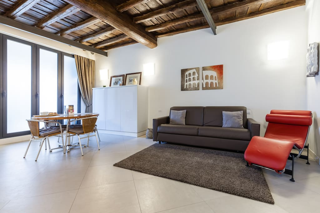 Maison Romana big loft, Rome Centre - 로마의 로프트에서 살아보기, Lazio ...