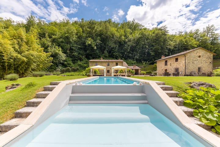 Luxury Water Mill with Saline Water Pool & SPA