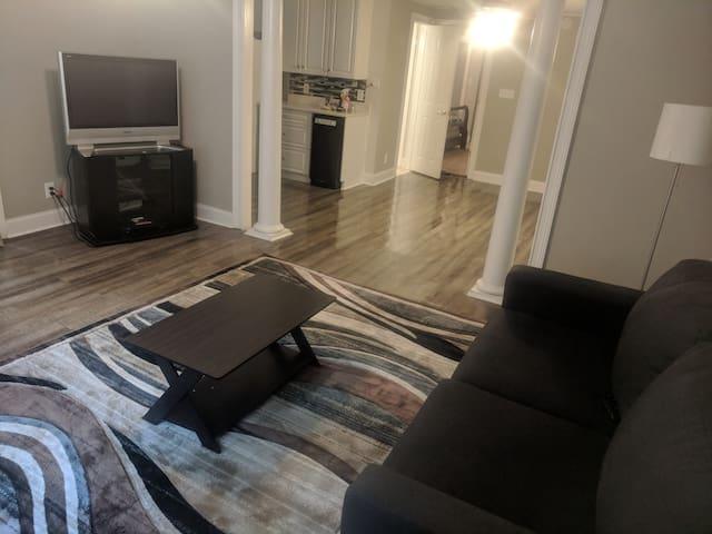 Cozy basement apartment