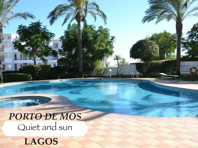 Lagos - Appartement 100m2, 6 pers en rez de jardin