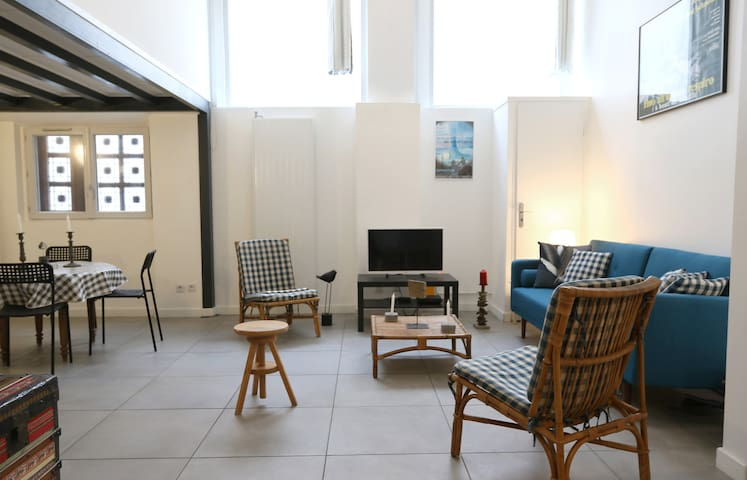 CHARMING APARTMENT IN THE 3RD DISTRICT OF LYON FOR 5 PEOPLE