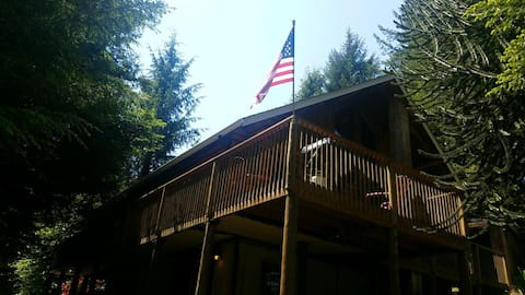 Come Enjoy the open air at the Bear Creek Lodge