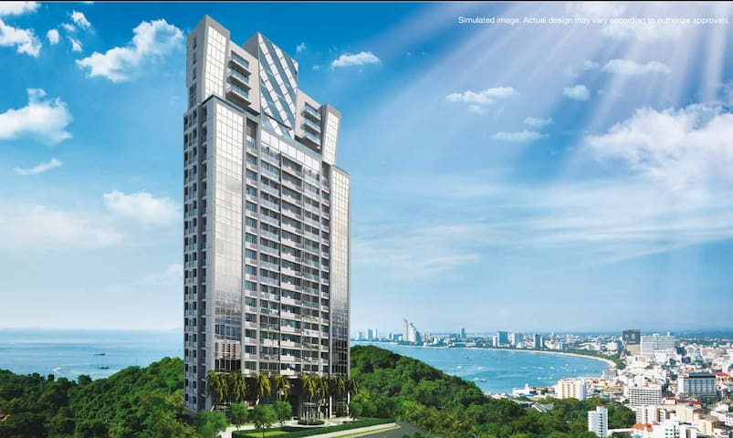 Vision Condo  best view of Pattaya