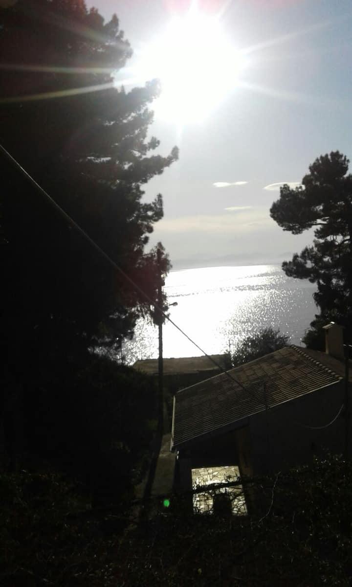 ionian paths sea view balcony