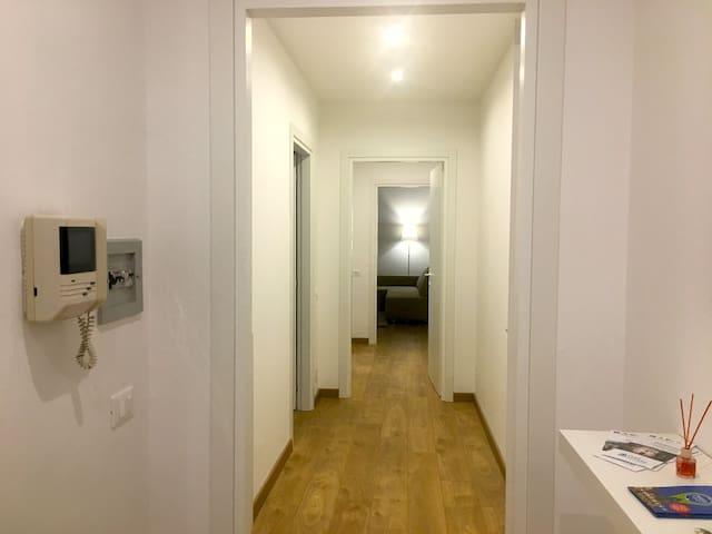 ingresso delle Suite