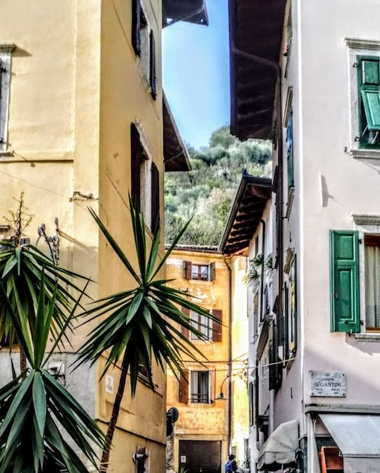 living the Old Town of Arco