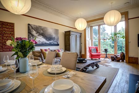 Stunning traditional flat in the heart of Bristol