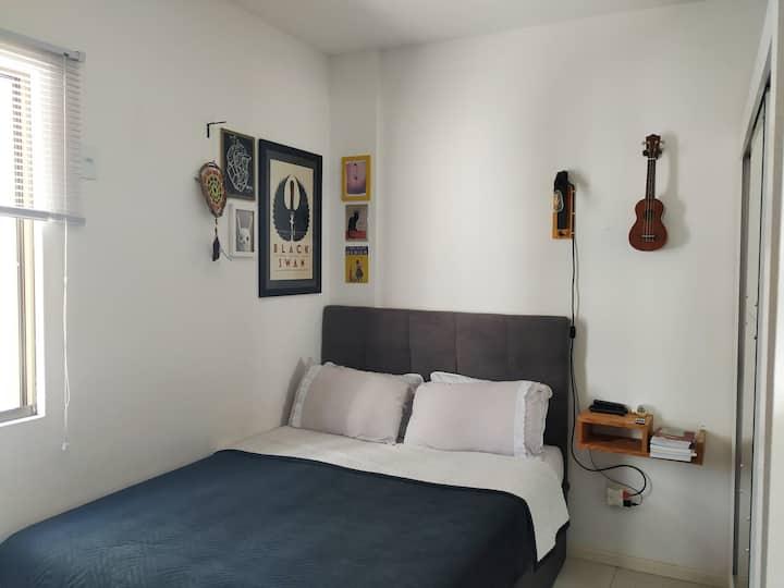 O seu quarto de Floripa!