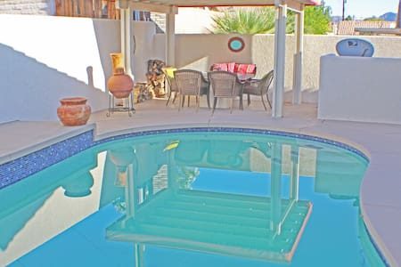 Desert Trip! 3 bedroom Pool house