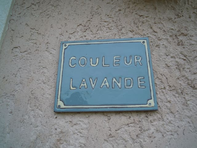 STUDIO COULEUR LAVANDE - Apt - House