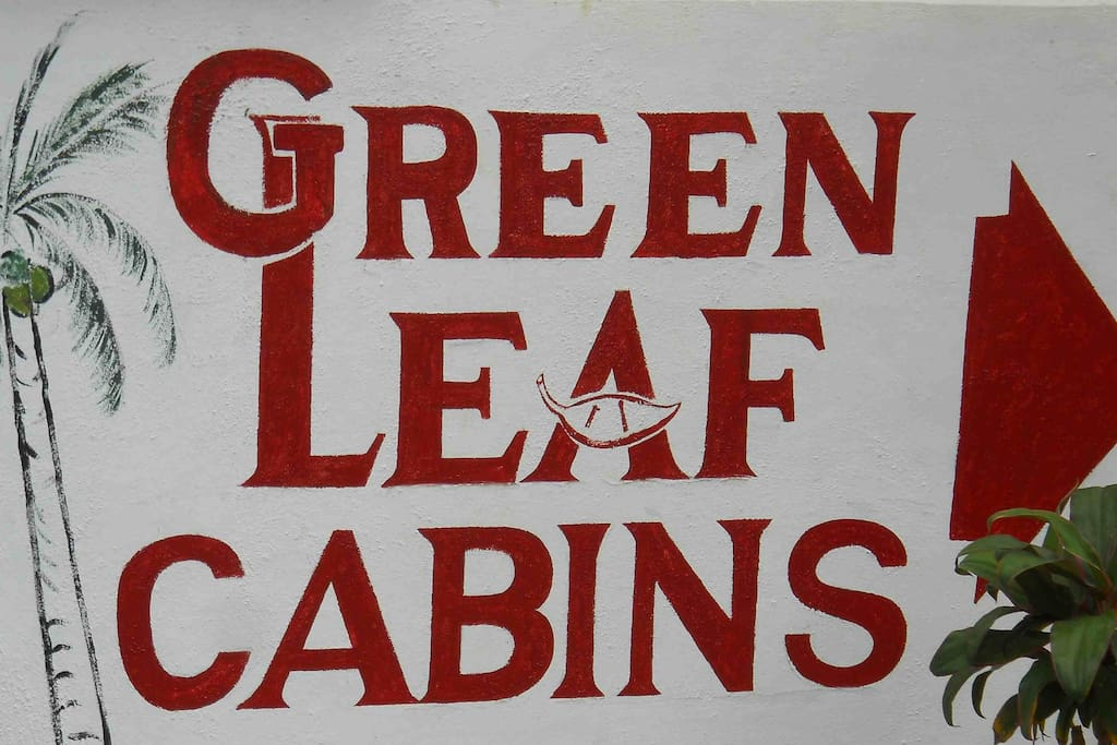 Welcome to Green Leaf Cabins.