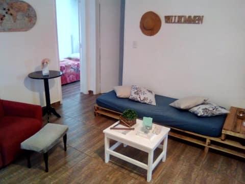 Quarto solteiro nº3 | Hospedaria Casa Quest