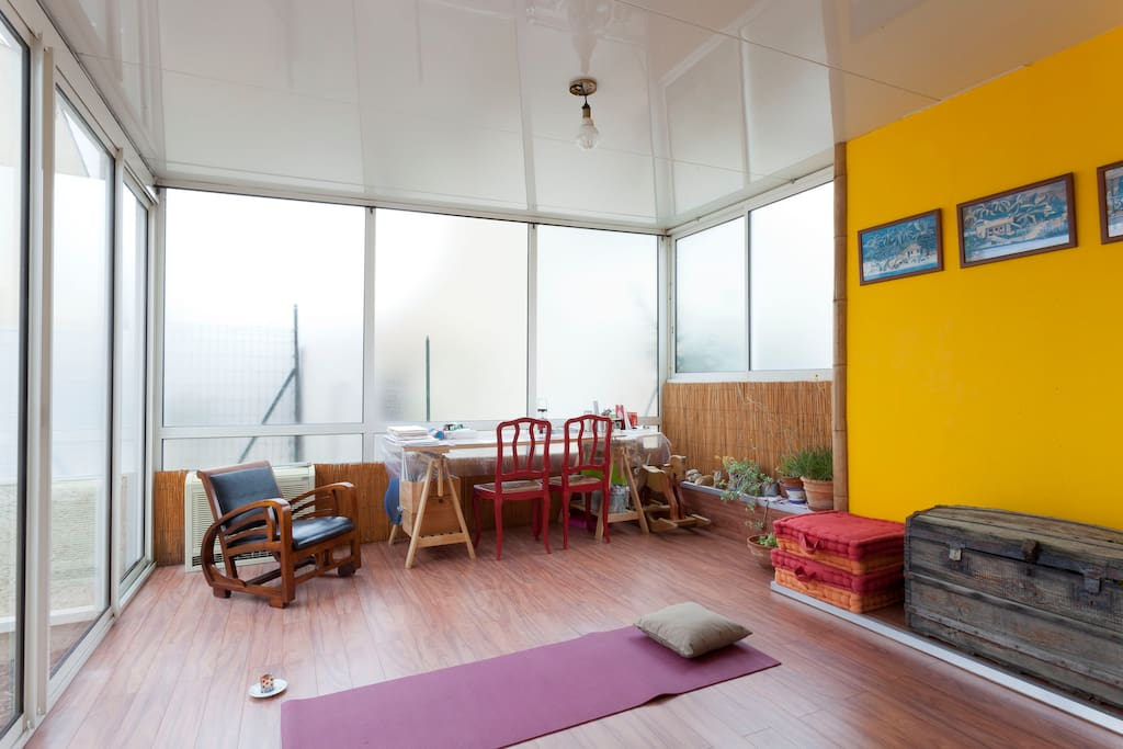 veranda : détente et loisirs