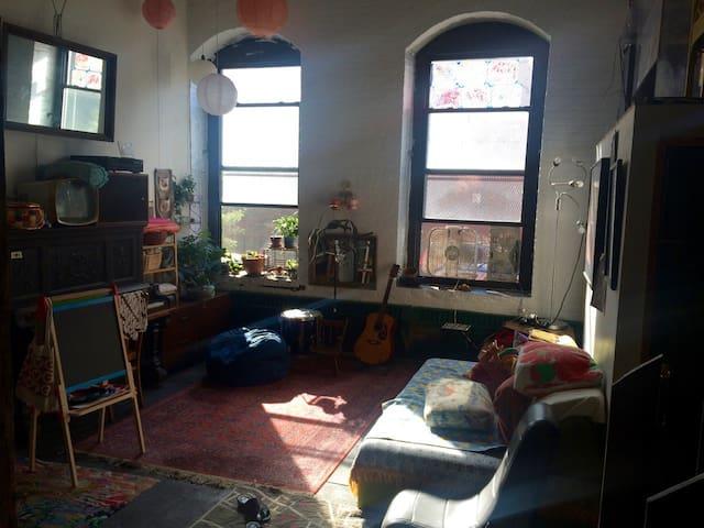 Great loft in Red Hook, Brooklyn - Brooklyn - Loft