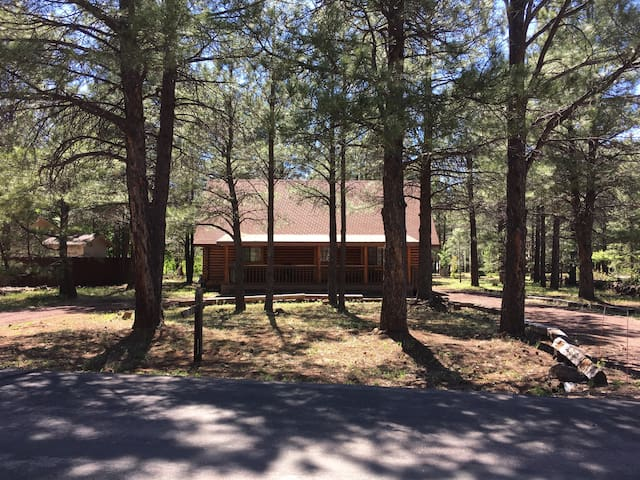 Beautiful Updated Log Cabin - Pinetop-Lakeside - Kulübe