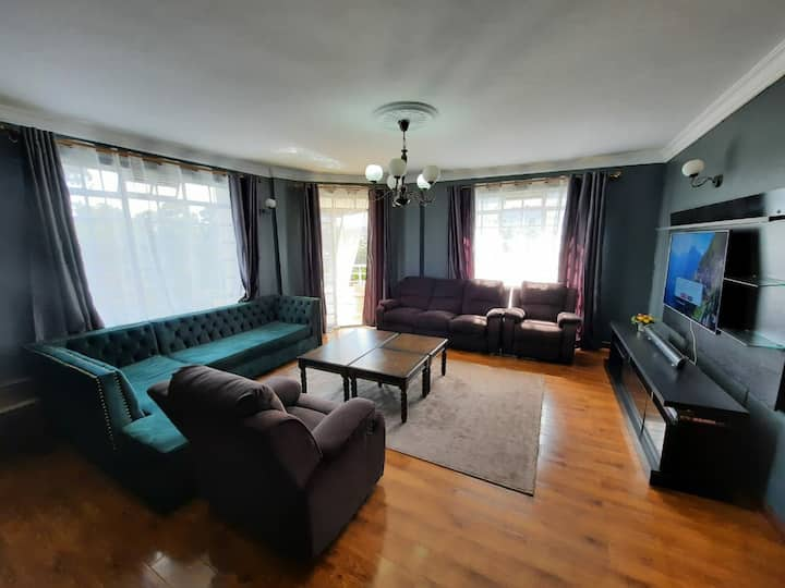 Fully furnished 3 bedroom apartment in Lavington.