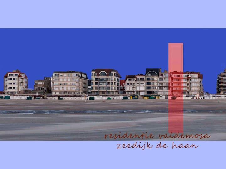 gezellig appartement op zeedijk