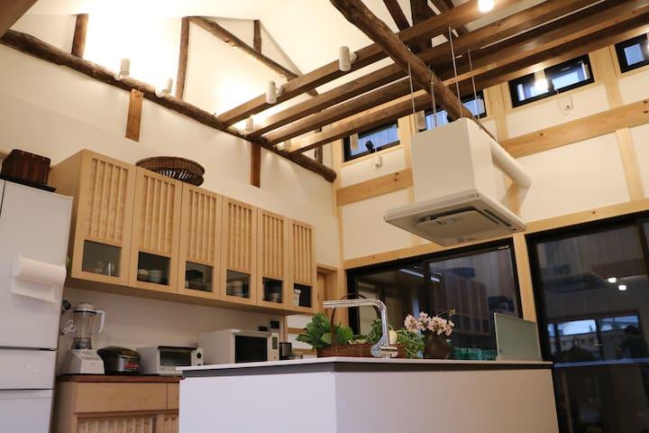 Kurashiki DEN - Modern House - Bikan Chiku