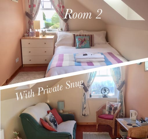 Fuaran B&B - Small Ensuite Room 2 & Private Snug