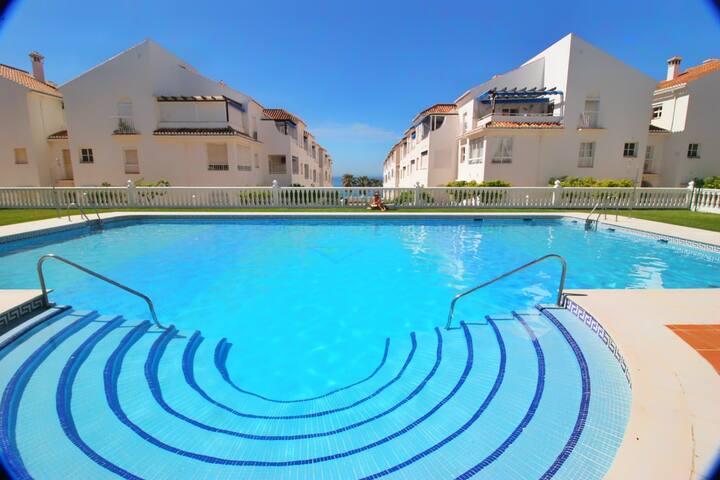 City-View Apartment at Playa Torrecilla with Pool